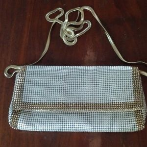 Whiting & Davis Pyramid Clutch
